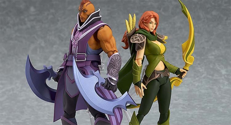 Photo of DOTA 2 Mendapatkan Figure Nendoroid Dragon Knight, Nendoroid Mirana, Figma Windranger, dan Figma Anti-Mage.