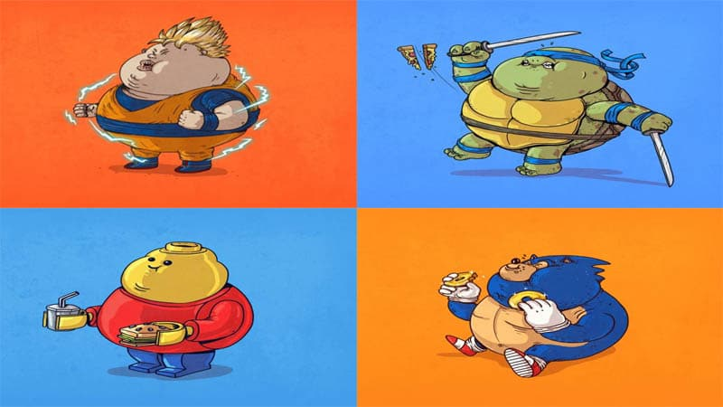 Photo of Famous Chunkies – Fat Anime