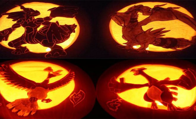 Pumpkin Carving Pokemon