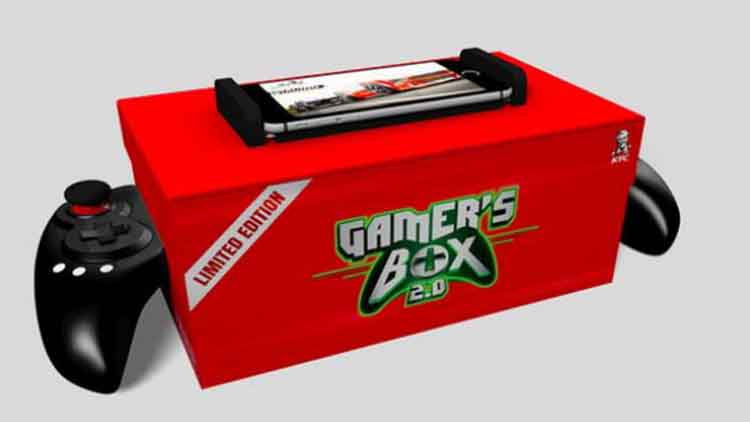 Photo of KFC Gamer's Box 2.0