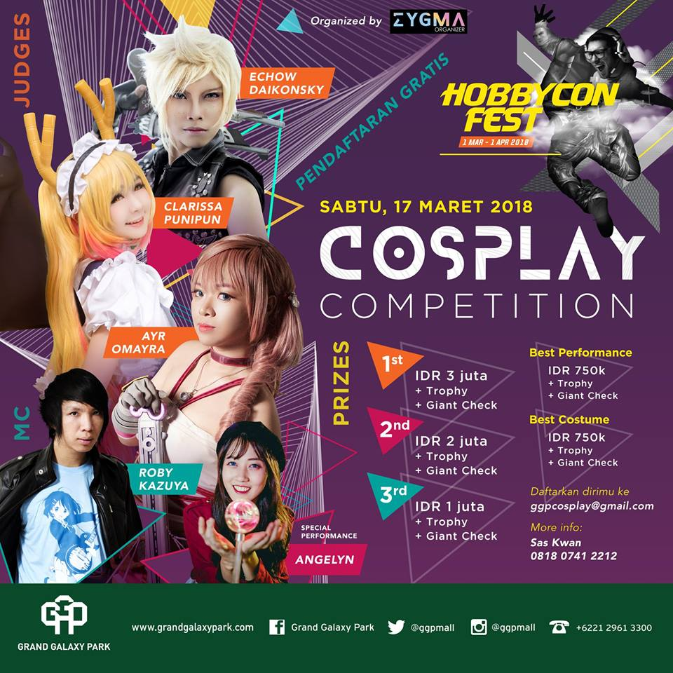 cosplay 2018 indonesia