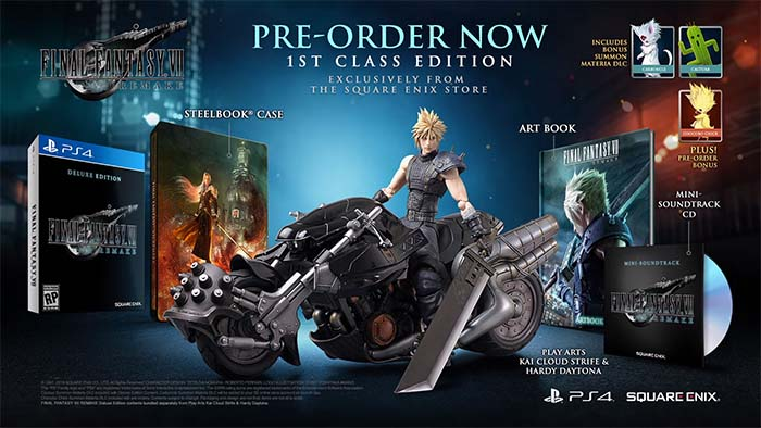pre order final fantasy 7 remake ps4 pc xbox