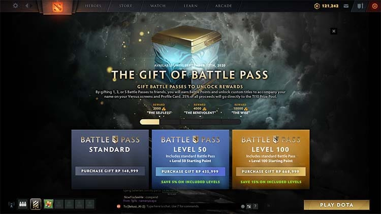 beli battle pass 2020