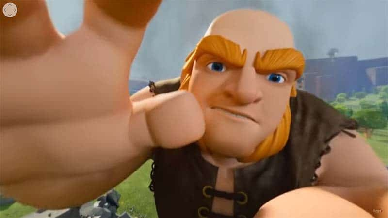 Clash of Clans movie android ios