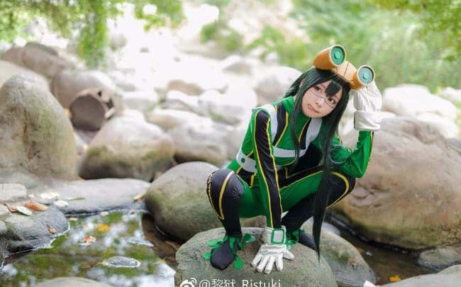 Photo of Cosplay Cantik Froppy Dari Boku No Hero Academia